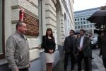 Odsłonięcie tablicy Wiedeń
